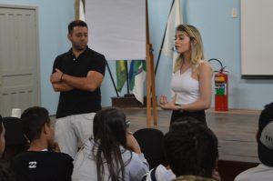 CDL na escola C E Antonina Ramos Freire